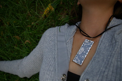 Microscope Slide Necklace