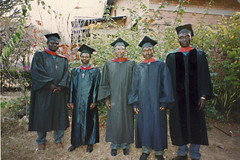 Masters Degree graduates