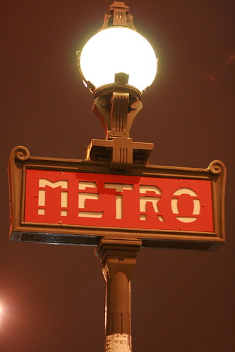 le metro!