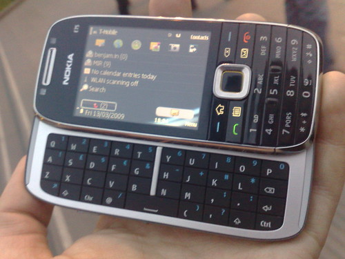 The E75 - Qwerty Mode