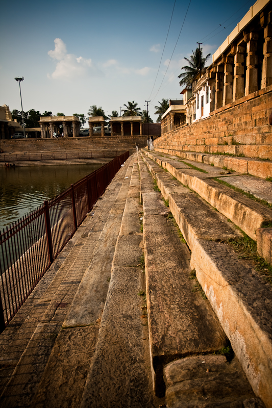 Kalyani steps, Melkote - Chitra Aiyer Photography