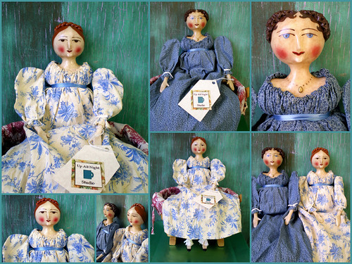 Regency Doll Collage