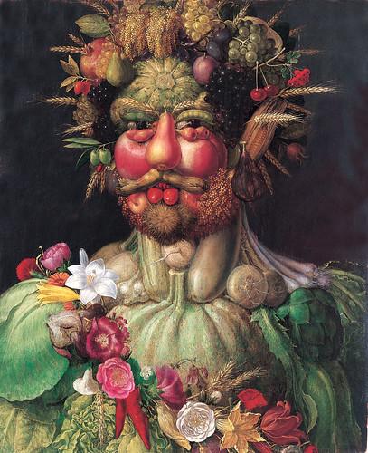 009-Vertumnus retrato de Rodolfo II-1590-Giuseppe Arcimboldo