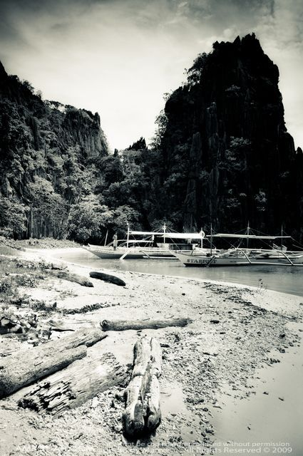 Palawan in Black and White Photo Series