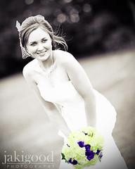 purple and green bouquet (jaki good miller) Tags: wedding portrait bride bouquet bridal jakigood brideportrait