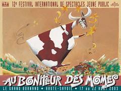 Affiche Festival Au Bonheur des Momes-2003