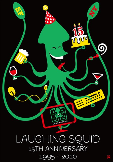 Laughing Squid 15th Anniversary