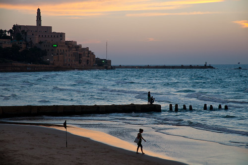 A Sunset in the Old Jaffa