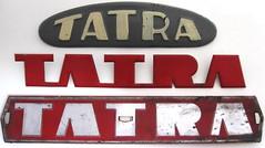 TATRA truck emblems (baga911) Tags: truck t republic czech military duty vehicle cz heavy czechoslovakia 815 tatra 138 148 813 kopřivnice kolos teherautó