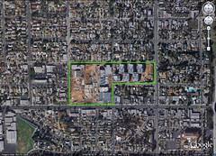site of Torres HS's urban campus (via Google Earth)