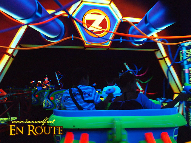 Shoot the Target and level up at the Astro Blaster