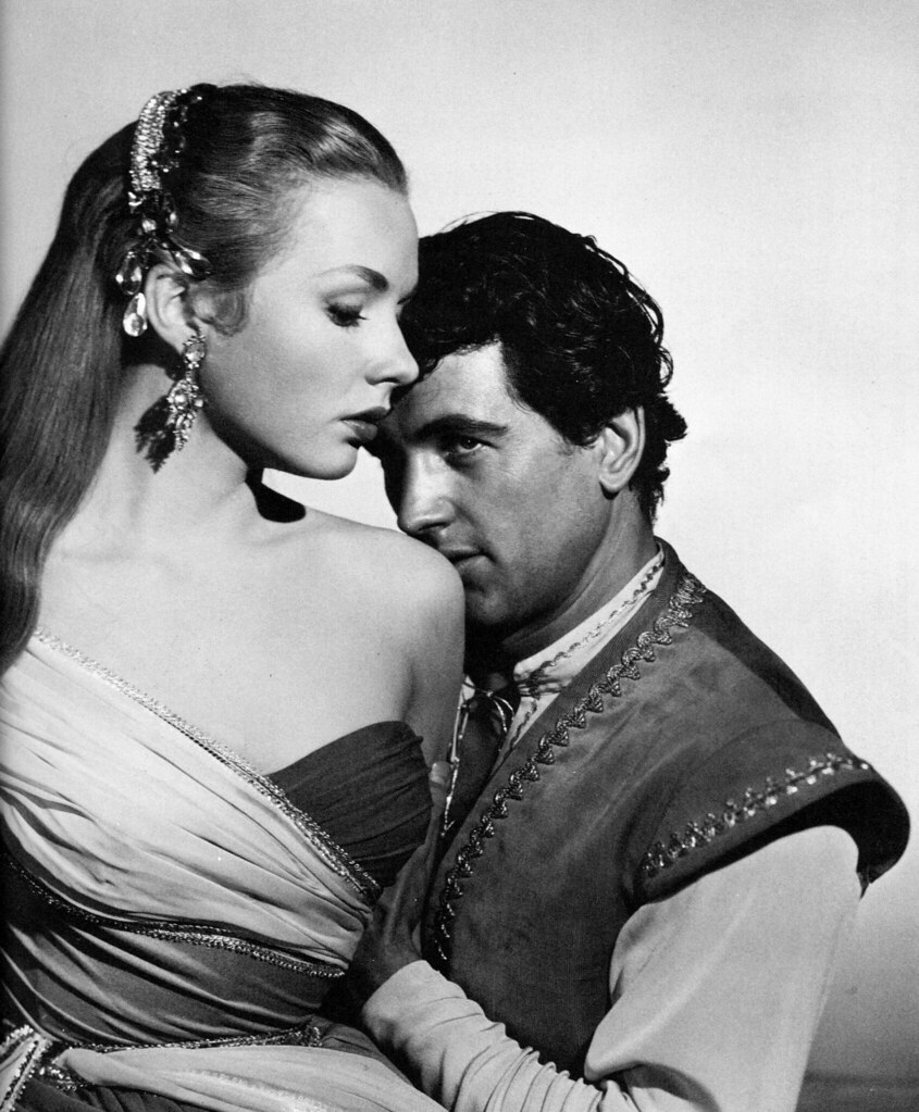 Piper Laurie and Rock Hudson