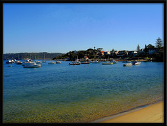 A Perfect Autumn Day In Sydney (eliselovesprada-sort of;-)) Tags: sea beach nature water boats harbour sydney australia watsonsbay easternsuburbs flickrgolfclub
