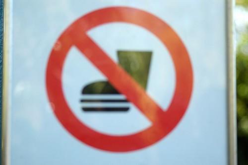 no moonboots allowed