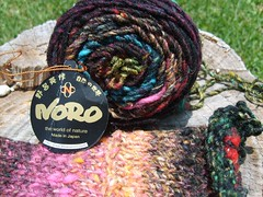 Noro Iro Yarn & Swatch