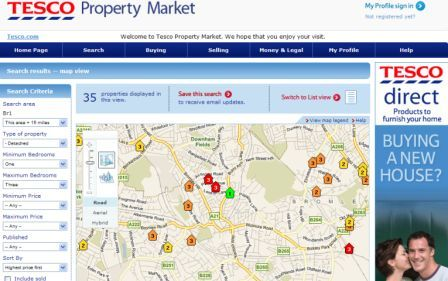 Tesco Property Market
