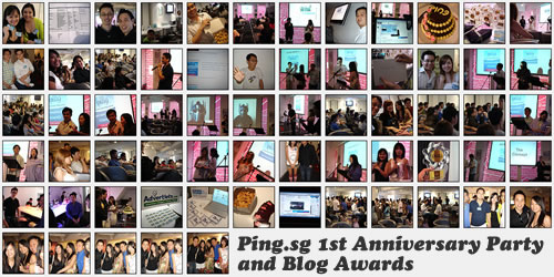 Ping.sg 1st Anniversary Party and Blog Awards