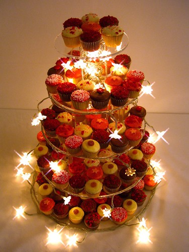 Cupcakes fairy lights
