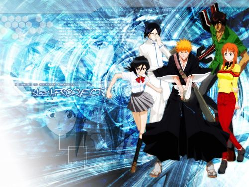 Bleach Team Wallpaper
