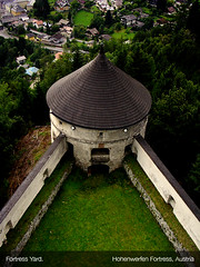 Fortress Yard (abdull) Tags: building salzburg yard austria fortress hohenwerfen