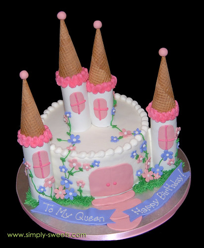 Castle Cake ToMyQueen
