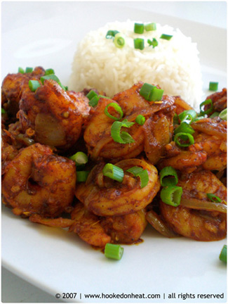 Ginger Chilli Shrimp