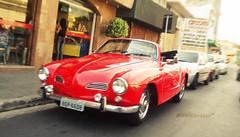 (alineioavasso) Tags: old red car vermelho carro oldcar antigo carroantigo