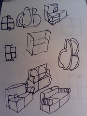 Couch DB logo sketches #2