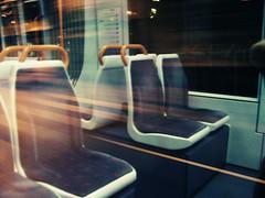 Tram & Speed (Lisrgico) Tags: city white black night speed lights noche tram ciudad bn tenerife nocturno islascanarias lalaguna tranva