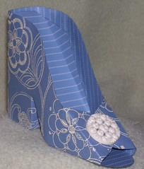 Blue Sunday Best (Burton Boxes) Tags: paper shoes small boxes giftboxes cardstock