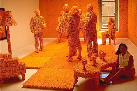 Cheetos Art Sculpture