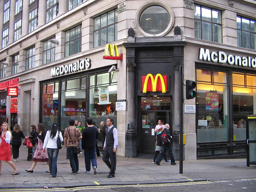McDonald's, Leicester Square, London, England