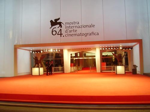 el festival de cine de venecia, estuve la ultima noche pero no via nadie por CAMILIUX.