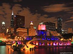 Chicago Colors (iCamPix.Net) Tags: chicago canon landscape illinois explore grantpark buckinghamfountain professionalphotographer downtownchicago cookcounty 1508 markiii1ds