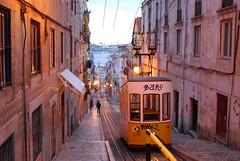 Night Tram to Lisbon (nikos_m) Tags: portugal lisbon tram