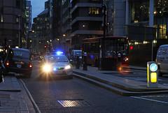 City of London Police LW08ZKM in Moorgate