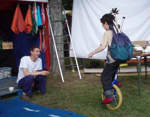 Monocycle à 11 ans