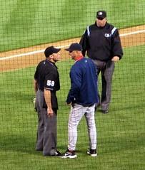 sports baseball argument ejection bostonredsox umpire oaklandathletics terryfrancona