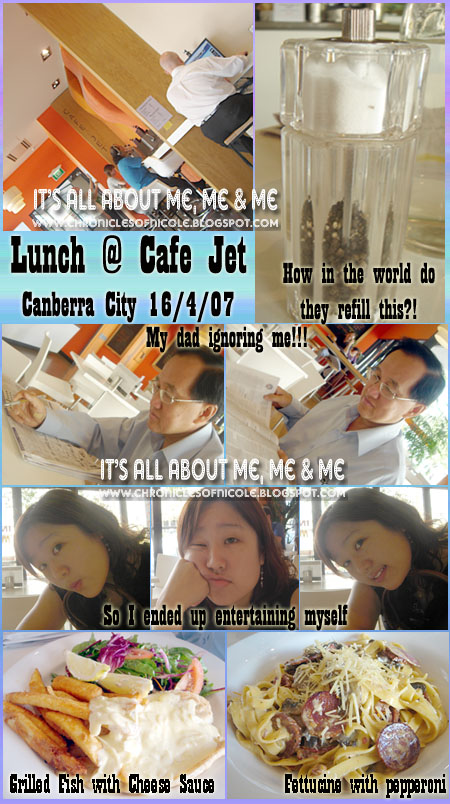 lunch at cafe jet