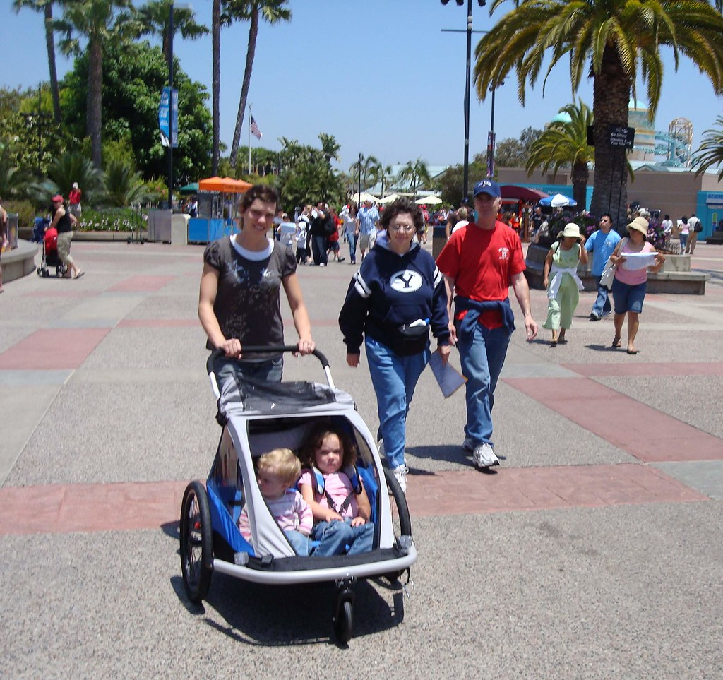 Stroller purchased just for this vacation