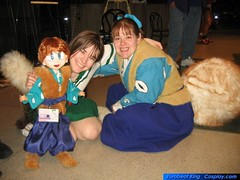 with kagome and shippo.jpg (Elly_Leaverton) Tags: marionette sakuracon shippo