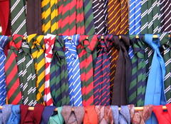 The Sunday market 10/regimental ties