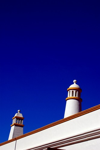 Typical Algarve chimney