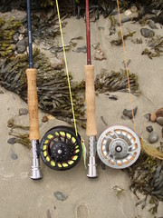 P7110018 (jreidfive) Tags: fish beach virginia fly sand tide low maine wells roanoke rod t3 saltwater zerog reel mach orvis