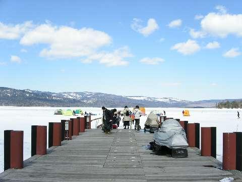 PICT0598通往阿寒湖冰上野營
