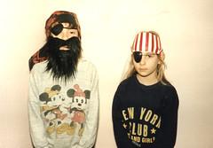 Pirates (webjoy) Tags: pirates 1989 fancydress oldfamilyphotos horred