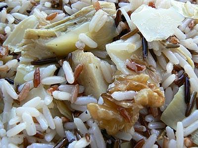 salade de riz sauvage artichauts, noix et parmesan.jpg
