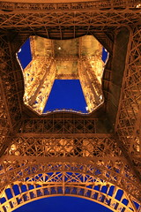 Bright Dusk (barolodrinker) Tags: light paris france night eiffeltower