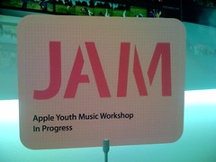 Apple Youth Music Workshop in Progress