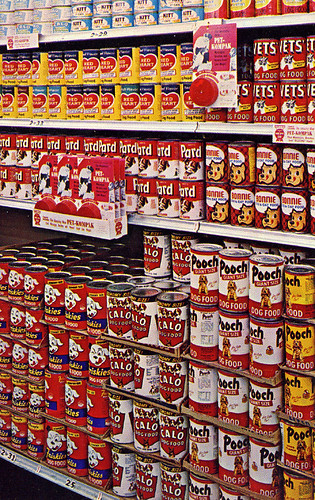Safeway Dog Food Display, 1960's